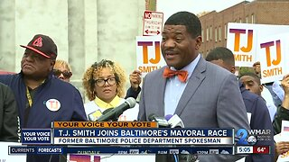 T.J. Smith joins Baltimore mayoral race