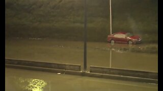 I-94 remains closed as crews continue flood cleanup