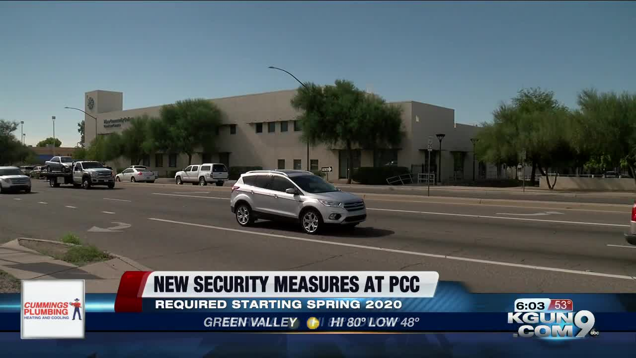 New security changes coming to Pima Community College