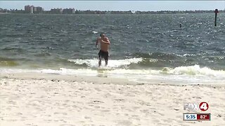 Beach Advisory REMOVED at Cape Coral Yacht Club Beach in Cape Coral