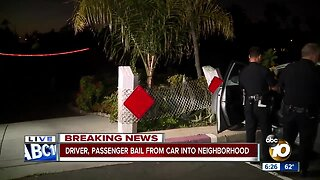 San Diego Police chase suspect through North Park