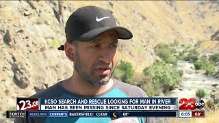 Search for missing man continues