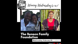 The Benson Family shares the story behind their foundation AM Wake-Up Call
