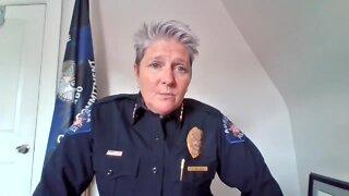 Denver7 interview with new Aurora Police Chief Vanessa Wilson