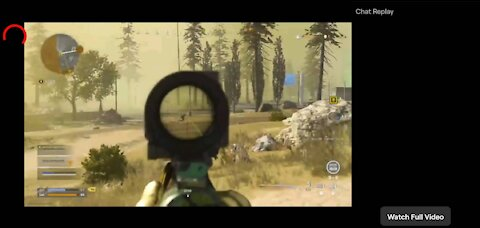 Call of Duty Warzone (Kar98 Gas Kill)