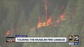 ABC15 tours the damage left behind from the Museum Fire