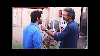 Varun Dhawan with Avinash Gowariker Snapped at Mehboob Studio | SpotboyE