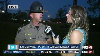 "Florida Highway Patrol gives safe driving tips first Monday after ""springing"" forward"