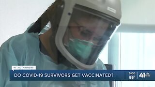 Do COVID-19 survivors get vaccinated?