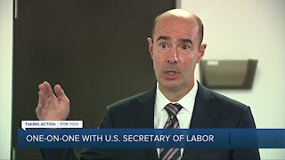 One-on-one with U.S. Secretary of Labor