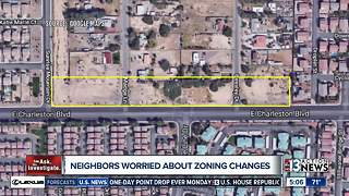 East Las Vegas woman on crusade against commercial development