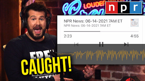 CAUGHT! Crowder Catches NPR Secretly Pushing Racist Narrative...   Louder With Crowder
