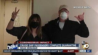 Grand Princess cruise passengers complete two week quarantine