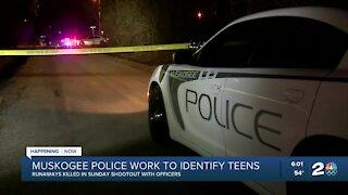 Muskogee police work to identify teens