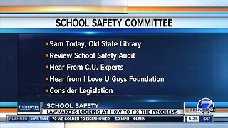 Legislature's School Safety Committee meets again Friday