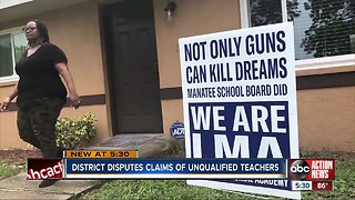 Manatee County School District responds to allegations after taking control of charter school