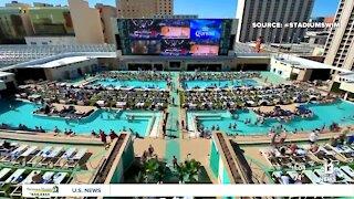 TIMELAPSE   Stadium Swim at Circa in downtown Las Vegas