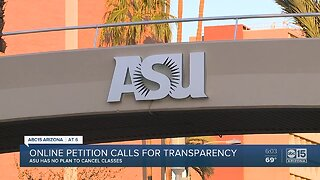 ASU students concerned with lack of information surrounding Coronavirus