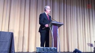 Carson Wentz Speaks At National Prayer Breakfast Dinner