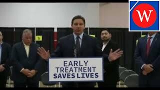 'Early Treatment, Saving Lives': DeSantis On Monoclonal Antibodies