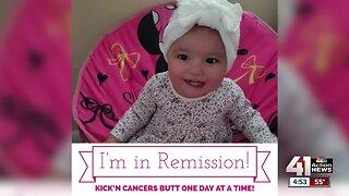 Girl, 2, battling cancer, receives special surprise