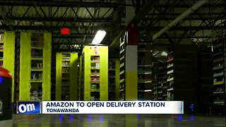Amazon to open delivery station in Tonawanda