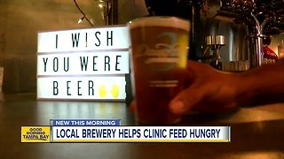 St. Pete brewery finds unique way to feed hungry