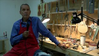 St. Pete woodworker marks 50 years of violin making