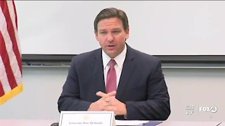 DeSantis assembles with experts to combat red tide in Florida