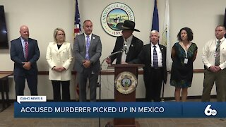 Idaho man accused of killing his wife arrested in Mexico