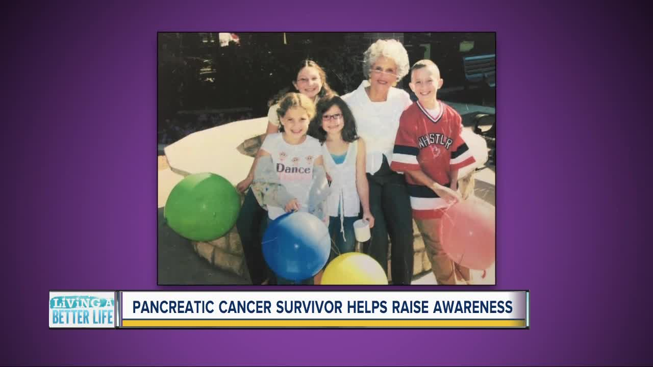 Pancreatic cancer survivor helps raise awareness
