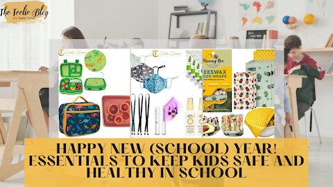 The Teelie Blog | Happy New (School) Year! Essentials to Keep Kids Safe and Healthy in School