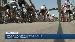 Cyclists, downtown businesses thrilled for Saint Francis Tulsa Tough's return