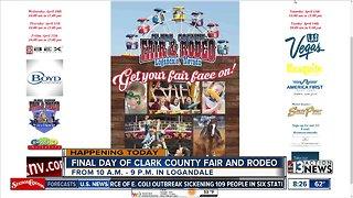 Last day for Clark County Fair