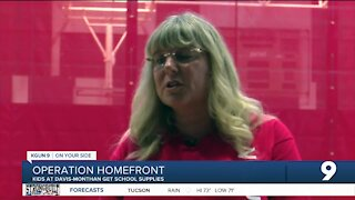 Operation Homefront gives hundreds of kids at Davis-Monthan school supplies