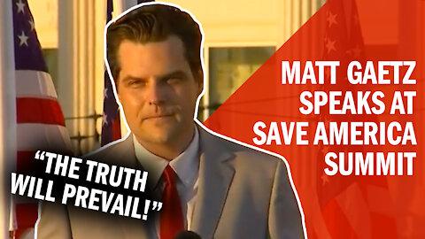 DEFIANT: Matt Gaetz Fights Back Against Deep State Attacks