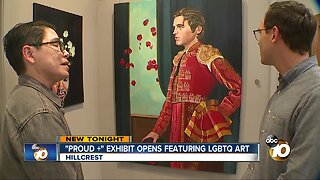 Artist exhibits first works after coming out as transgender