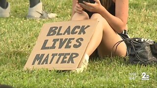 Black Lives Matter rally took place in Baltimore County Friday