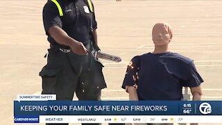 Summertime Safety: Fireworks Safety