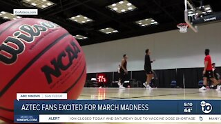 SDSU fans excited for March Madness
