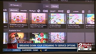 Breaking down your streaming TV service options