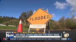County residents brace for heavy rainfall
