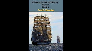 Colonial American History Journal - Book 1