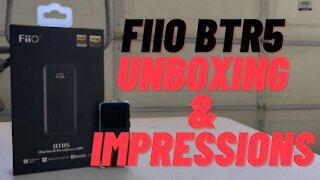 Fiio BTR5 Unboxing & First Impressions