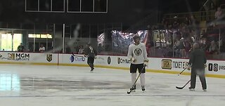 VGK practices before Wednesday night game