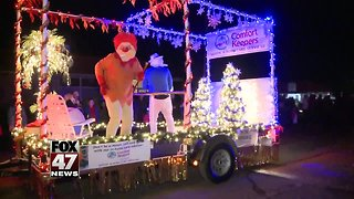 Christmas parade in Grand Ledge