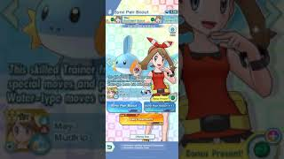 Pokémon Masters Ex - May Spotlight Sync Pair Scout x11 (I Scouted May & Mudkip! Awesome Luck!)