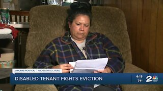 Problem Solvers: Disabled tenant fights eviction in Tulsa