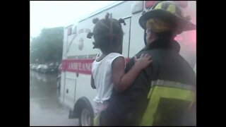 Water Rescue on Milwaukee Streets (August 6th, 1998)
