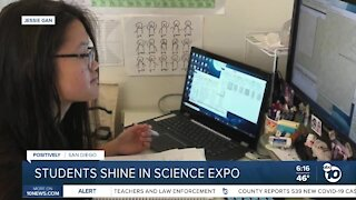 2 high school seniors named finalists in national science contest